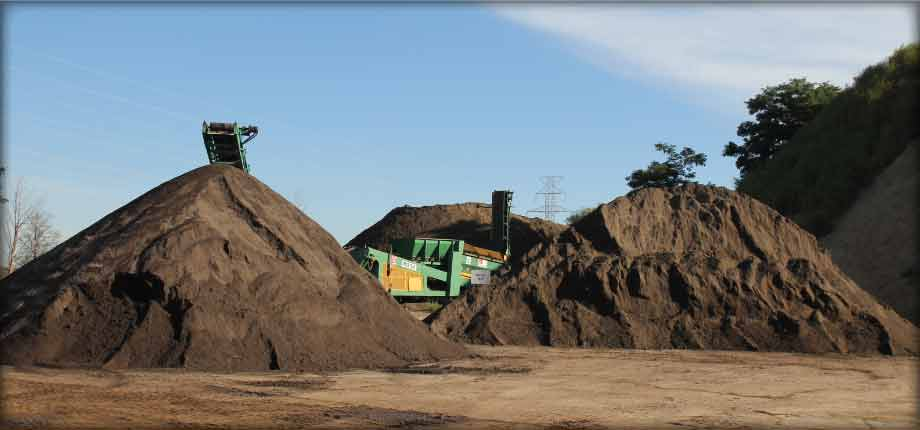 different grades of topsoil