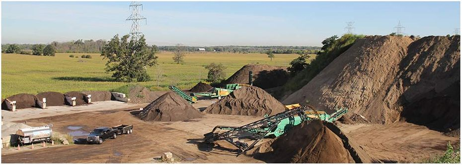 Petrie's Quality Topsoil Ltd. | work site 18