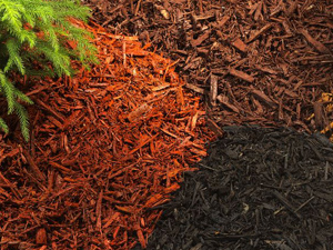 Coloured mulches