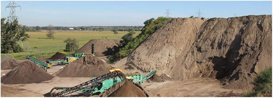 Petrie's Quality Topsoil Ltd. | work site 8